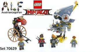 Lego Ninjago Movie 70629 Piranha Chase - Lego Speed Build Review