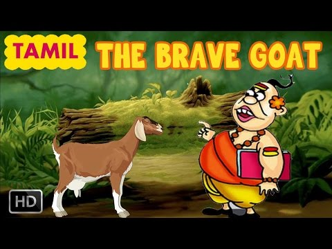 Jataka Tales - Animal Stories for Children - The Brave Goat - Story For Kids In Tamil