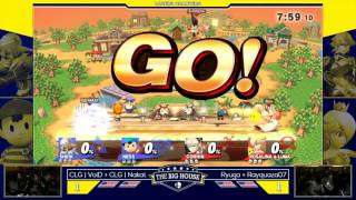 TBH6 Doubles  LOSERS QUARTERS - CLG | VoiD + CLG |  Nakat vs Ryuga + Rayquaza07 - Wii U