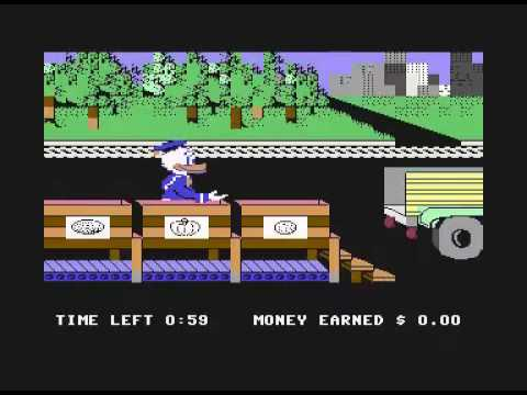 100 Commodore 64 games in 10 minutes