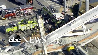 Death toll rises to 6 from Florida bridge collapse