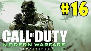 Call of Duty 4: Modern Warfare Remastered - Walkthrough - Part 16 - The Sins of Father (HD) [1080p]