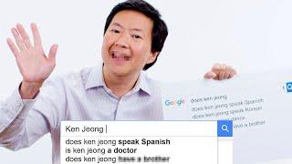 Ken Jeong Answers the Web