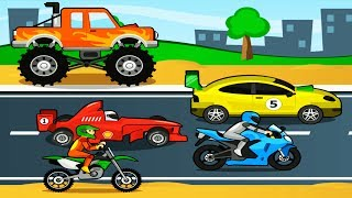 My Vehicle : Fun Play Car for Kids Games Children Play Fun Animated Puzzles Car Gameplay Android