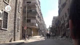 اتحاد تنسيقيات : جولة في مدينة دوما ترصد حجم الدمار في منازل المدنين بعد استهدافها 40 غارة 5-2-2015