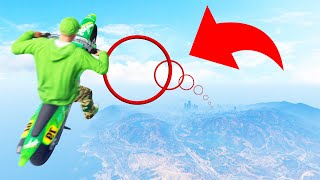 World Record PRECISION Glide ACROSS The Map! (GTA 5 Funny Moments)