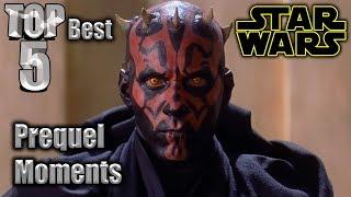 Top 5 Best Star Wars Prequel Moments