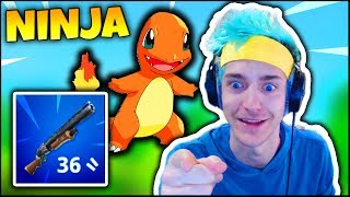 NINJA TALKS ABOUT HIS FAVORITE POKÉMON & WEAPON CHANGES | Fortnite Funny Moments Ep.23