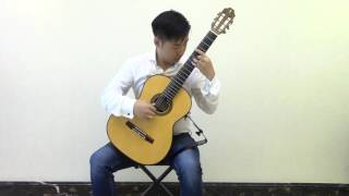 Guitar Masters 2016 - You Wu  /// CLASSICAL GUITAR / ROUND I