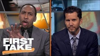 First Take Crew Gets Into Heated Dispute On Durant Declining White House Invite | First Take | ESPN