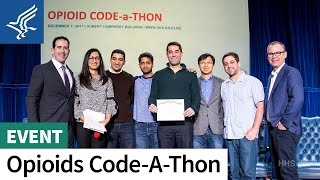 HHS Opioid Code-a-Thon winners announcement