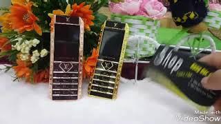 🎉Điện thoại Vertu LV12 thiết kế viền đá và da sang trọng👌