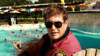 Piranha 3DD - The Hoff Scene!