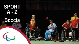 Paralympic Sports A-Z: Boccia