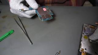 Vertu Ti charger port/разьем зарядки (disassemble/разбор)
