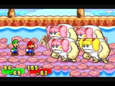 Mario and Luigi Superstar Saga Yoshi Magic Insanity