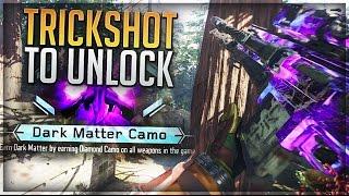 I HIT A TRICKSHOT TO UNLOCK DARK MATTER!! (UNLOCKING DARK MATTER ON BLACK OPS 3 WITH A TRICKSHOT)