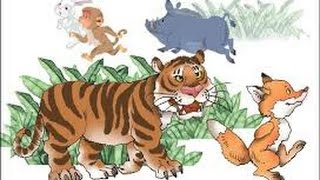 Golper Jhuri- Bengali story for children- The Tiger and The Fox
