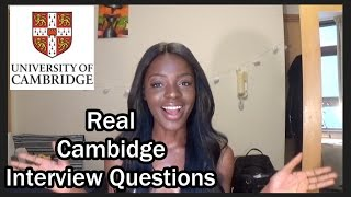 The Cambridge Interview | MY REAL INTERVIEW Qs + ANSWERS