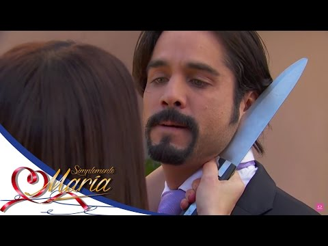María amenaza a Alejandro - Simplemente María