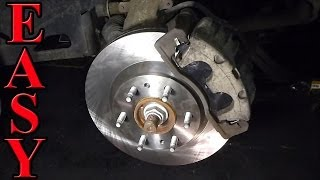 Front Brake Pad and Rotor Replacement