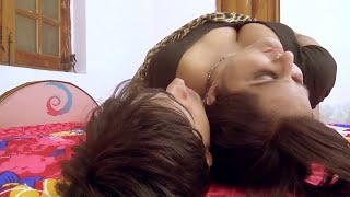 Young Devar Aakash Cannot Stop Himself - Hot Kavita Bhabhi Romantic Scene