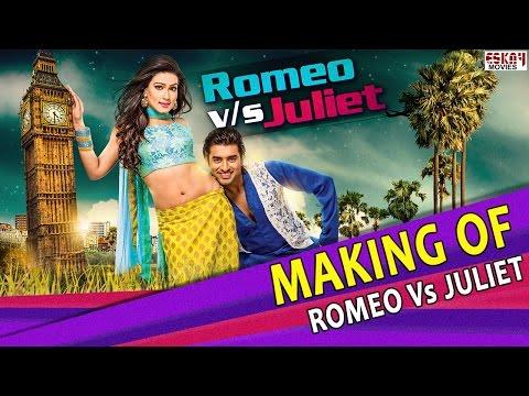 Making Of Romeo Vs Juliet I Ankush and Mahiya Mahi Behind the scenes