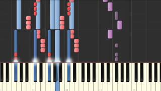 HOSSANA - MARCOS BARRIENTOS EN PIANO (SYNTHESIA)(COVER)