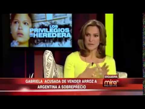 Al Desnudo Hija de Chavez es Multimillonaria