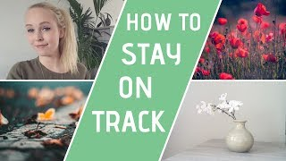 MINIMALIST LIVING | How To Stay Motivated
