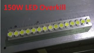 Diy Monster, 15 x 10w LED Strip Overkill