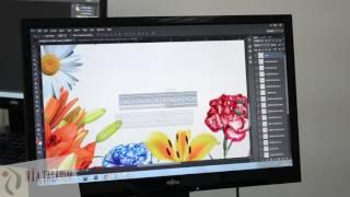 Nia Tasarım Tekstil Desen Tasarım Desinatörlük Videosu