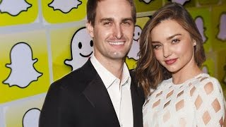 The fabulous life of Snap CEO Evan Spiegel - Miranda Kerr