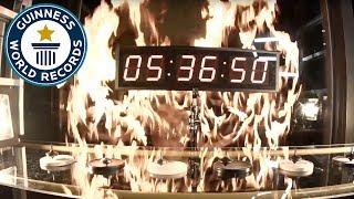 Longest-running mechanical spinning top - Guinness World Records