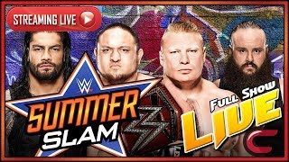 WWE Summerslam 2017 Live Full Show August 20th 2017 Live Reactions