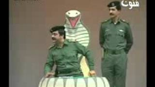 مسرحية سيف العرب مقطع تقليد صدام حسين