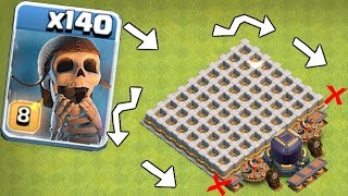 """1000 medals if you break EVERy WALL! """"Clash Of Clans"""" troll Clan games?!?"""