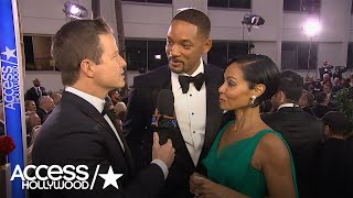 Golden Globes: Will Smith On Presidential Rumors –