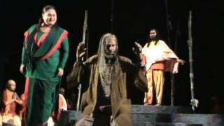 A clip from Bengali drama Madhabi presented by Kolkata theater group Nandikar.