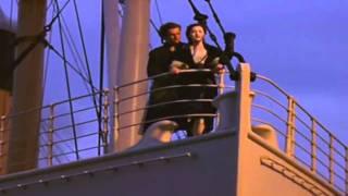 Titanic Romantic Scene