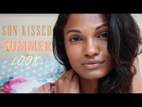 Xxx Mp4 Natural SUN KISSED Makeup Sri Lankan Indian Brown Skin 3gp Sex