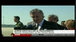 Sunken Spanish Gold - BBC News Report 24..02.2012