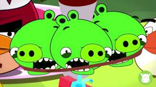 Angry Birds Toon  Red Bird Terrence's Birthday Party Angry Birds Fan Made Animation