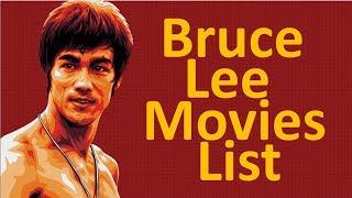 Bruce lee all movies list (1941 - 1973)