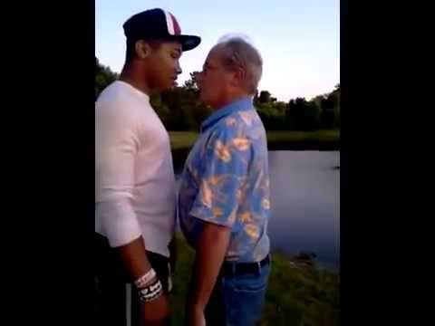 Angry Teen Snaps On A Hardcore Old Man In Florida After Calling Him A Typical Black Punk!