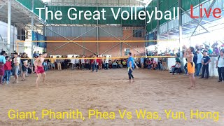 Live || The Great Volleyball Giant Vs Wa || 15 Dec 2018