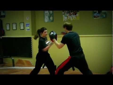 Teen Girl Kickboxer