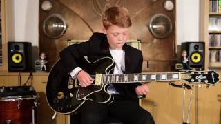 THE KING OF THE BLUES JAM By 11-year-old Toby Lee