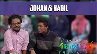 Warda Kena Sakat Dengan Nabil & Johan - MeleTOP Episod 207 [18.10.2016]