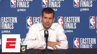 Brad Stevens jokes about Kobe Bryant